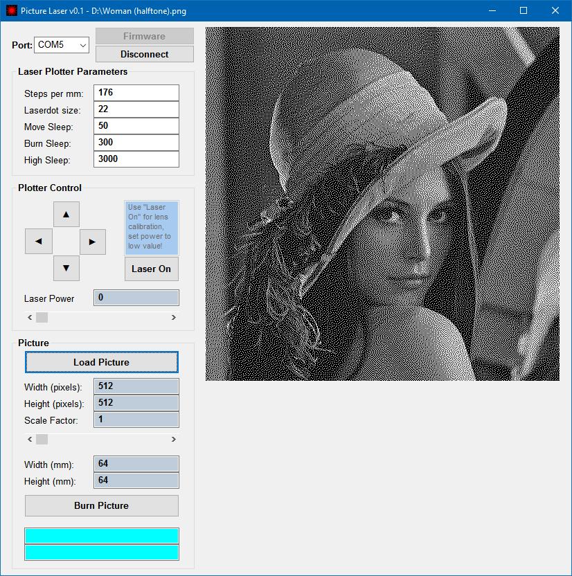 Makeblock XY Plotter Picture Laser v0 1 (new software for