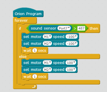 Programming with Sound Sensor - General Discussion