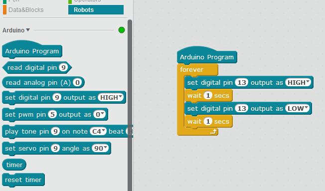 Example For Standard Arduino Mblock 3 Makeblock Forum