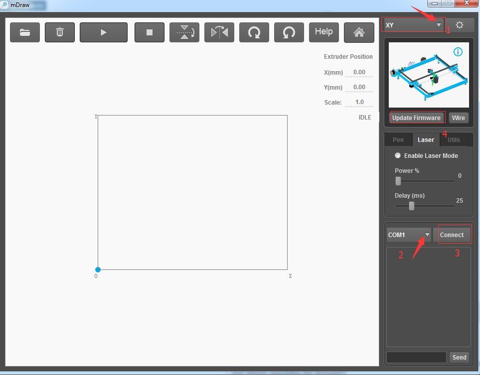 Install Laser Upgrade for XY Plotter on Mac OS X - Makeblock