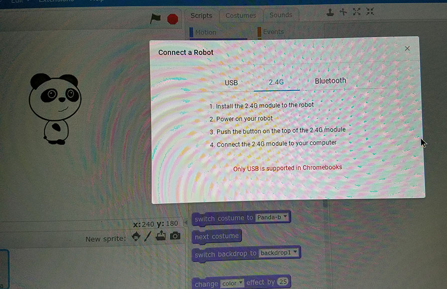 Connecting Ranger to Chromebook via Bluetooth or wifi - mBot