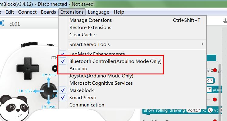 mBlock bluetooth controller - mBlock - Makeblock Forum