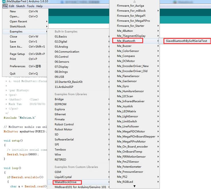 Bluetooth - Send text from PC - mBot Ranger - Makeblock Forum