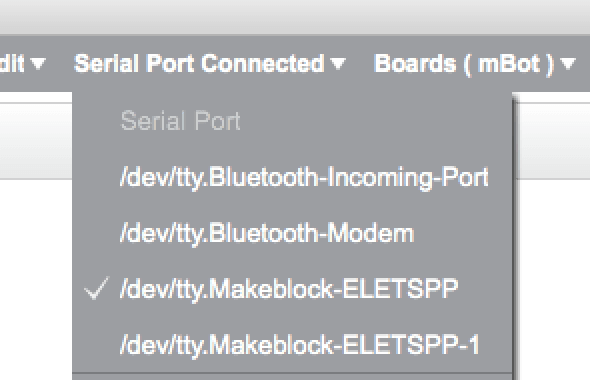Bluetooth connectivity on Mac not working - mBot - Makeblock