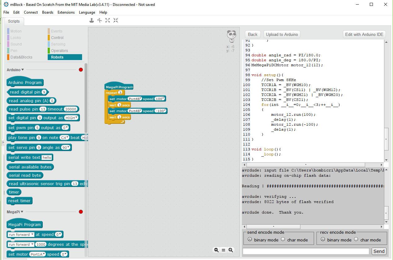 MegaPi and Makeblock Gripper not working - Ultimate Robot Kit