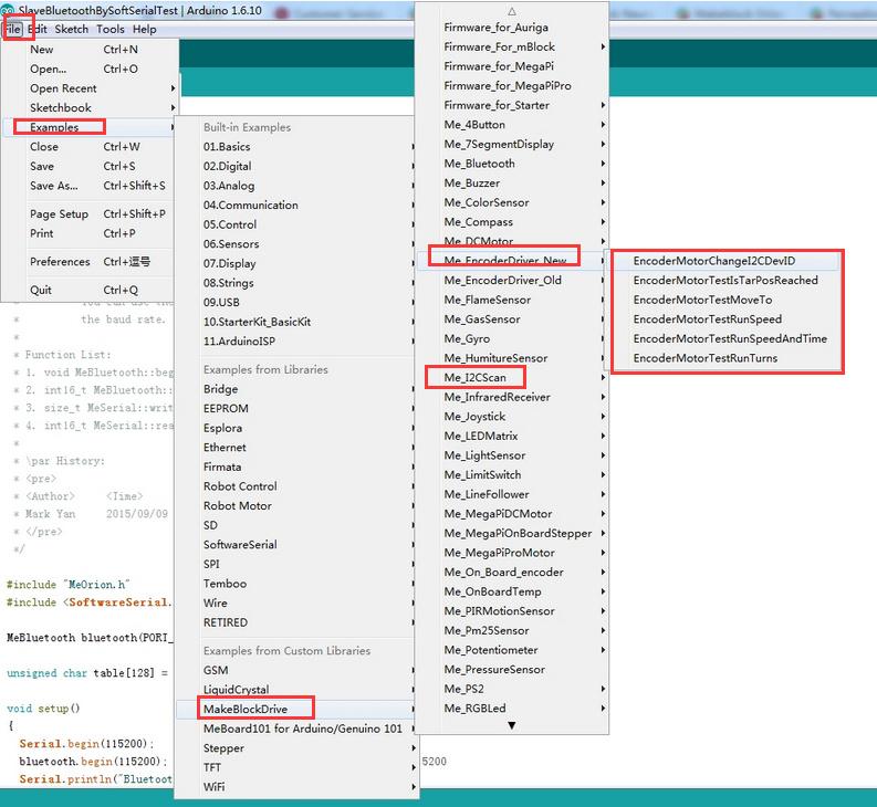 Coding orion i2c port - Makeblock Products - Makeblock Forum